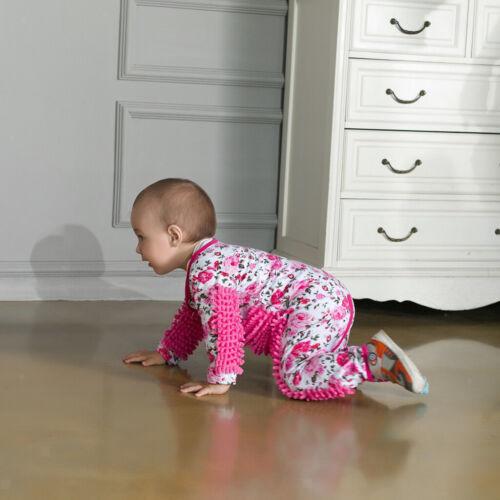 Niedliche Baby Strampler Wischmopp Spielanzug Overall Jumpsuit