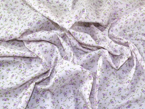 Vous ne payez que One Combiné postal charge. Mural Fleur-Lilas en Polycoton Tissu