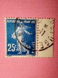 TIMBRE - POSTZEGELS - FRANKRIJK - Republique Française 1907  NR. 140 II (F 179)