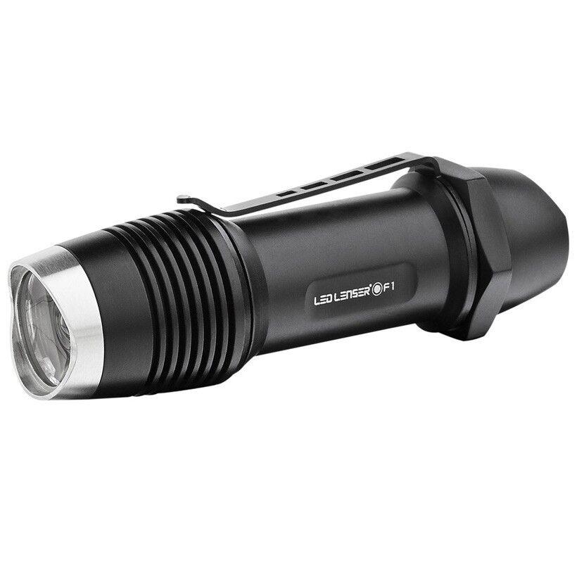 Brand new LED LENSER F1 8701 400 LUMEN handlamp Flashlight  torch In gift box
