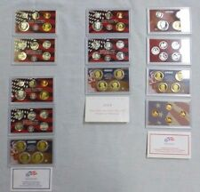 Lot 4:United States Silver Proof Mint Uncirculated Set's {2006-2007-2008-2009}