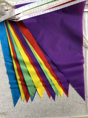 Multicolore Drapeau Arc-en-ciel Bruant 20 plastique drapeaux