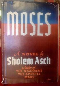 Signierte-Erstausgabe-Sholem-Asch-Moses-1951-selten
