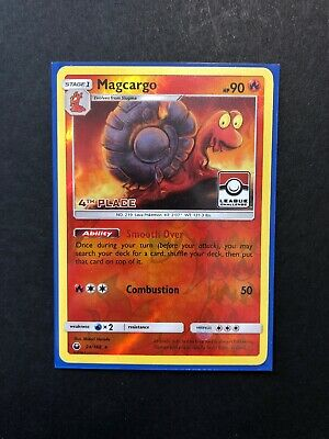 Magcargo 1st-4th Pokemon League Challenge Promo Cards #24//168 NM unplayed