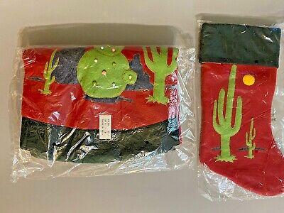 Southwest Kokopelli Christmas Tree Skirt Stocking Set Nip Quick Ship Ebay