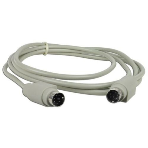 to PS//2 Cable 6/' PS//2 M Gray - Bulk Cable M