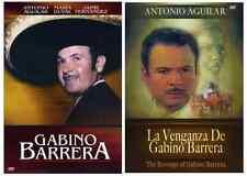 Gabino Barrera / La Venganza De Gabino Barrera* 2 DVD's NEW * ANTONIO AGUILAR *