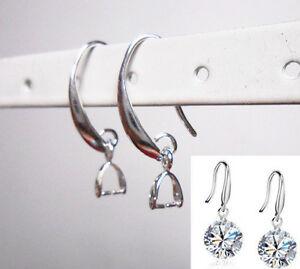 Wholesale-10-100PCS-DIY-Jewelry-Earring-Findings-Silver-Pinch-Bale-Hook-Earwires