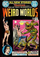 WEIRD WORLDS 1(9.0)(VF/NM)1ST JOHN CARTER WARLORD OF MARS-DC(g000)