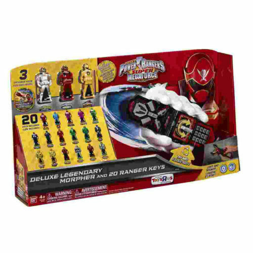 Morpher Power Rangers De Lujo Y 20 llaves Ranger legendario Super Megaforce 2013 Nuevo
