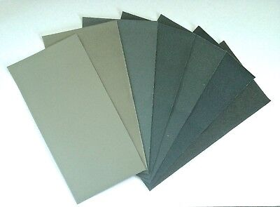 15.2cm x 7.6cm MicroMesh Assorted Grit Sheets 6 x 3 inches