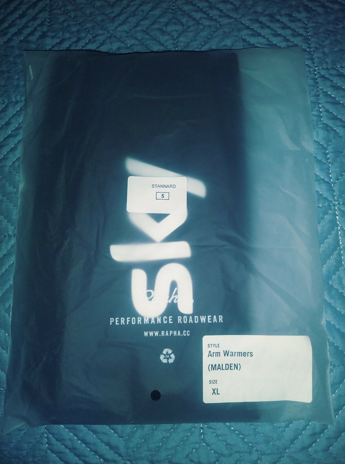 Rapha Team Sky Arm Warmers TEAM ISSUED to Ian Stannard size 5 (XL)