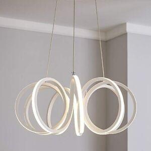 Dunelm-Harper-Infinity-Design-LED-Ribbon-Ceiling-Fitting-White-B