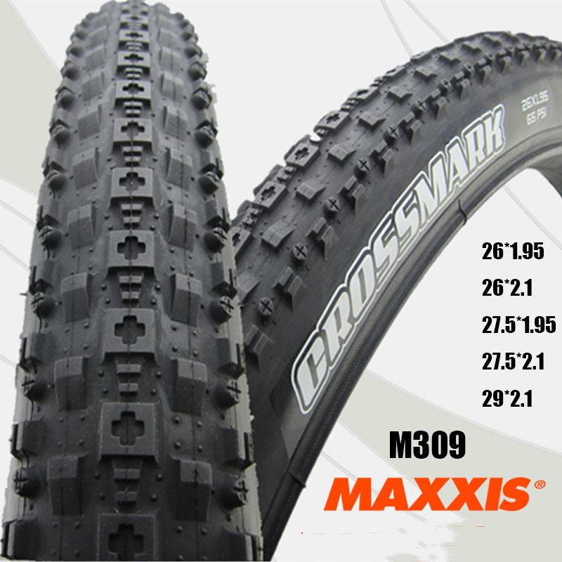 MAXXIS M309 CROSS MARK Bike Tire MTB Bicycle Foldable Tyre 26 27.5 29  1.95 2.1