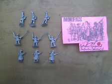 15mm Mini Figs  Medieval Catholic Imperial Infantry Command