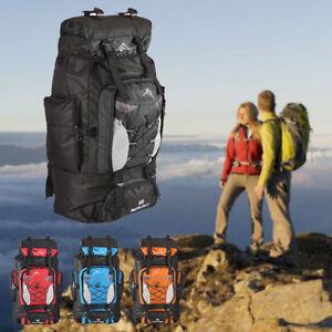 Nylon Extra Sac En Dos 80l Camping Randonnée Sur Large De Détails À fvIYb6gy7