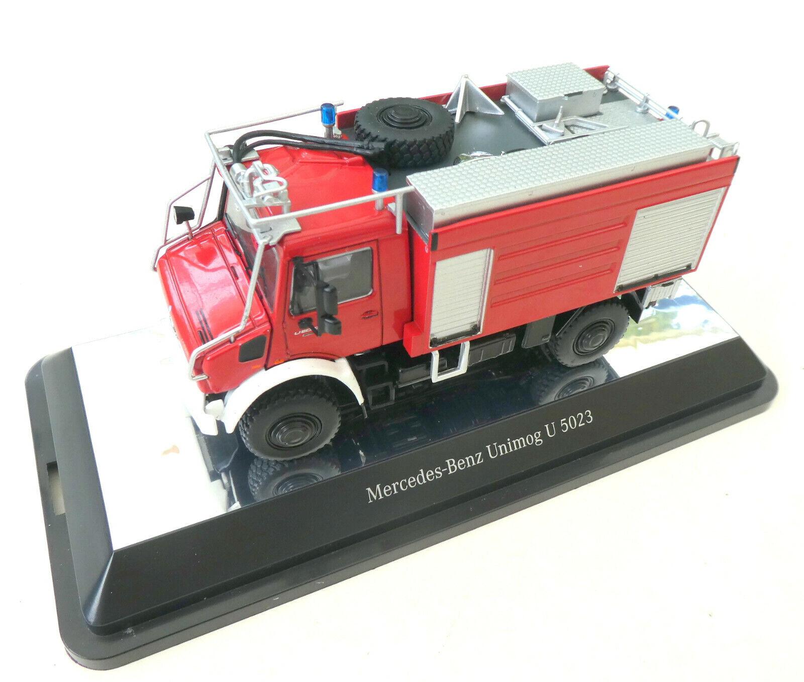 NZG MB Unimog U 5023 Feuerwehr Metall 1 50 OVP Neu 9112  4470