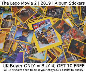 THE-LEGO-MOVIE-2-2019-Stickers-SELECT-YOUR-gt-NEW-Album-Sticker-1-182