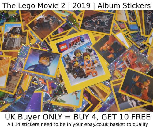**NEW** 2019 1-182 Album StickersSELECT YOUR />/> Sticker THE LEGO MOVIE 2