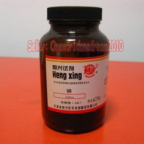 25g (0.88oz)  pure elemental iodine crystals AR, ACS grade