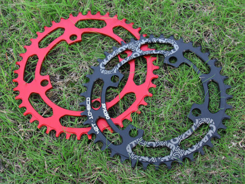 Aluminum Bike Chainrings BCD 104mm Round Bicycle Wide Narrow Chain Ring 40-52T