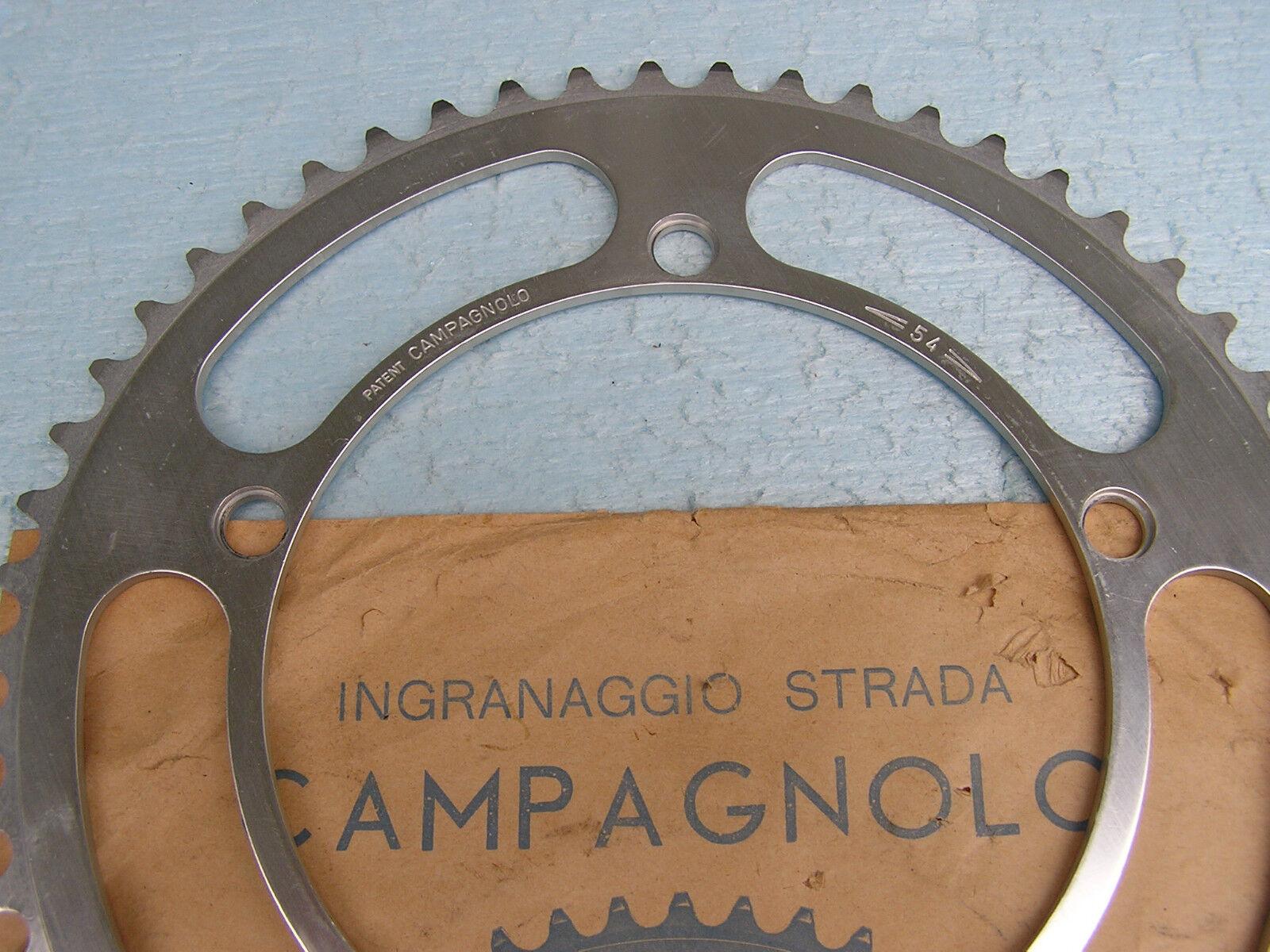Campagnolo Nuovo Record « patente » Nib Plato Strada 54-t 144-mm nuevas enmiendas Nib » 1972 4be09b