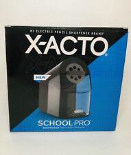 Brand New X Acto School Pro Electric Desk Pencil Sharpener Black