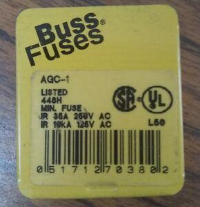 Lot of 10 Buss AGC1-1//2 Fuses 1-1//2 Amp 250V 1//4 x 1-1//4 Glass Fuse Bussmann