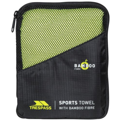 TRESPASS wickerman Bambou Sports Serviette Vert Taille Unique