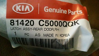 Genuine Hyundai 81420-4D000 Door Latch Assembly
