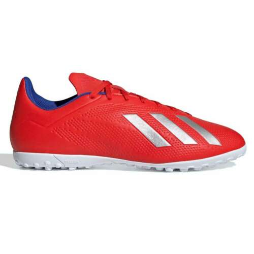 adidas Mens X Tango 18.4 Astro Turf Trainers Football Boots Lace Up Padded Ankle