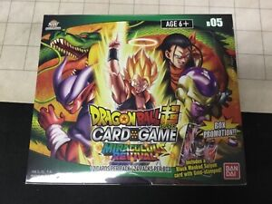 Dragon-Ball-Super-Miraculous-Revival-Booster-Box-B-05-Factory-Sealed