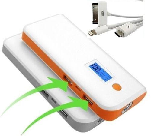 SCHERMO LCD POWER BANK carica BATTERIA ESTERNA USB 75000mAh UNIVERSALE portatile