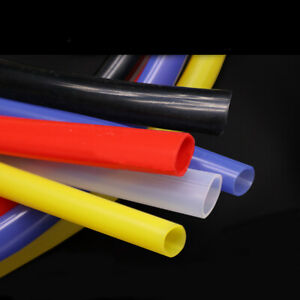 Yellow 2mm~14mm ID Food Grade Silicone Flexible Tubing High Temp Soft Hose//Pipe