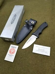 Boker Arbolito Argentina Drop Point Hunting Knife Fixed Blade Vintage NICE