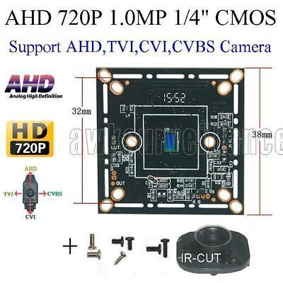 TVI//AHD//CVI//CVBS 3.6mm 75° View Angle 1.0MP 720P Analog CCTV Dome Camera 4in1