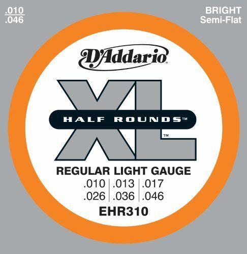 D/'Addario EHR310 Ss Half Rd Reg Lt