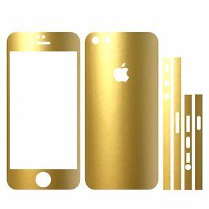 22 Farben Iphone 5s Folie Gold Metallic Bumper Cover Hülle Case