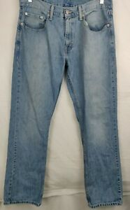 Men-s-Levi-s-559-Relaxed-Fit-Straight-Leg-Denim-Jeans-34x34-Pre-Owned