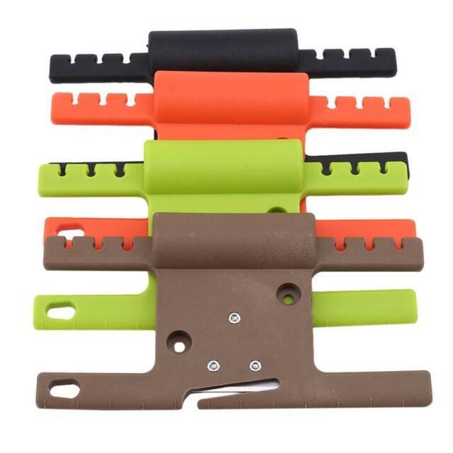 Plastic EDC 550 Paracord Winder Spool Cord Organizer Holder Survival Tool Black