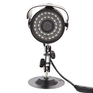 1200TVL HD 6mm Lens IR Night Vision Outdoor Home CCTV Surveillance Camera IR-CUT