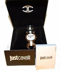 Just-Cavalli-Women-039-s-Wrist-Watch-Stainless-Steel-White-Water-Resistant