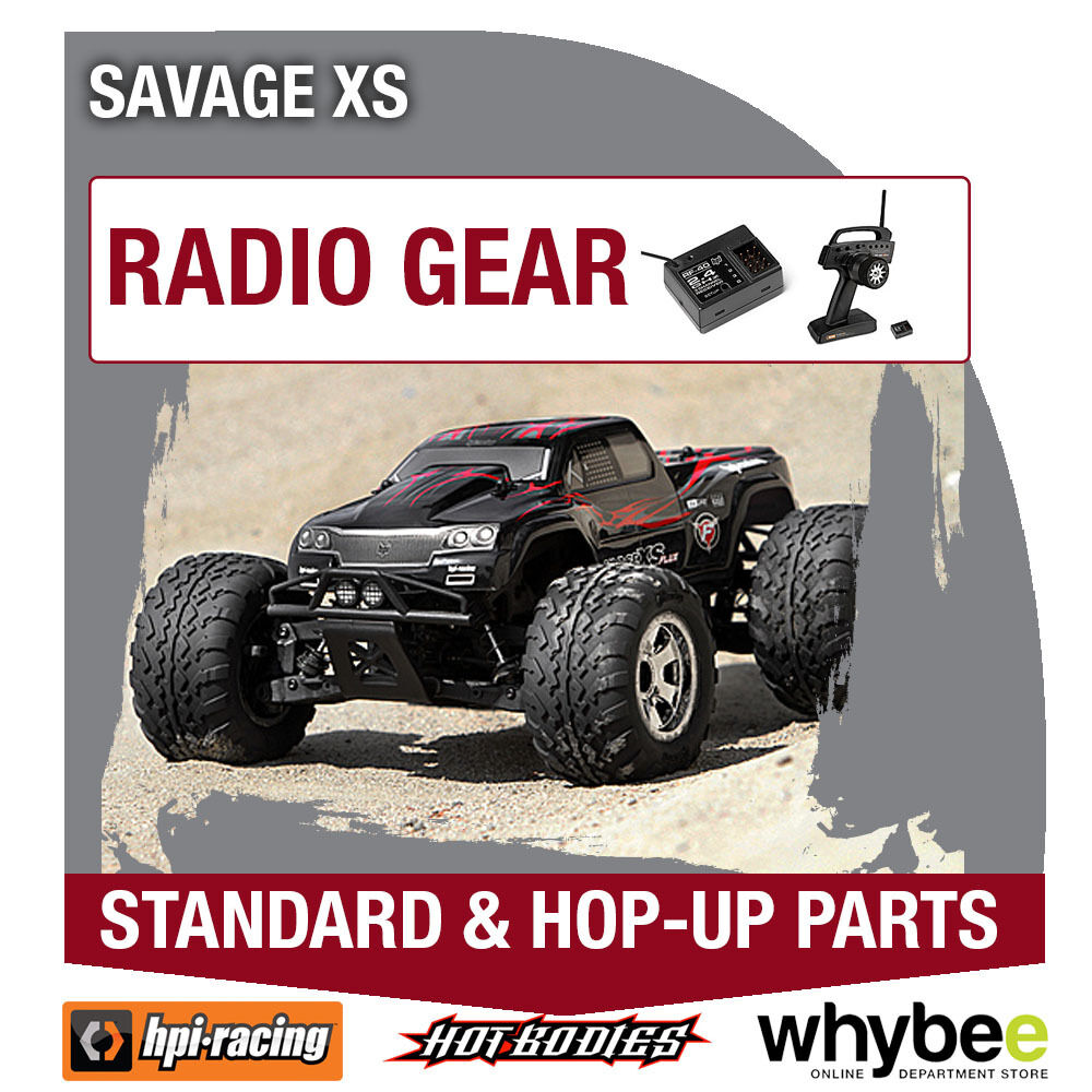 HPI SAVAGE XS [Radio Gear] Genuine HPi Racing R C Standard & Hop-Up Parts