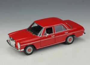 Welly-1-24-Mercedes-Benz-220-Red-Diecast-Model-Car-New-in-Box