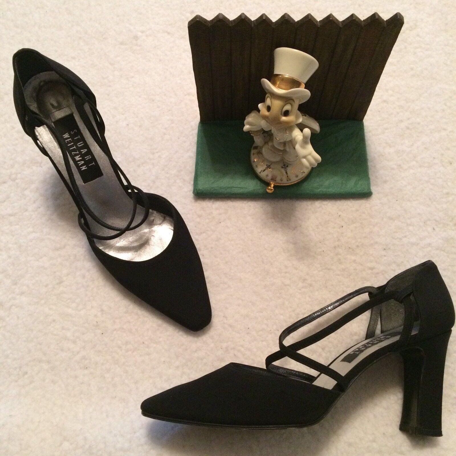 Stuart Weitzman pumps heels schwarz Größe 8.5 M J201125 Minimal Wear