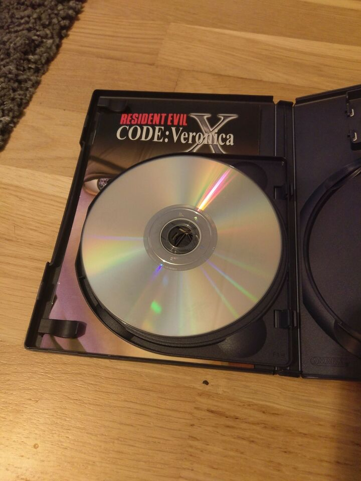 Resident evil code Veronica x, PS2, action