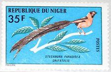 NIGER 1978 624 443 Bird Birds Vögel Vogel Fauna Senegal Paradieswitwe MNH