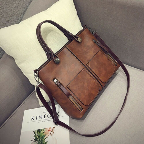 Fashion Women Handbag Ladies Leather Messenger Shoulder Satchel Bag Tote Purse
