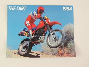 1984-Honda-The-Dirt-CR250R-CR250-Z50R-Z50-XL80S-XL80-Dealer-Brochure-L150