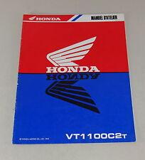 Nachtrag für Werkstatthandbuch / Manuel d'atelier Honda VT 1100 C 2 T von 1995